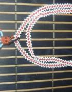 Indiański regionalny naszyjnik z koralików z USA