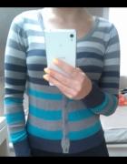 Sweter paski Camaieu S