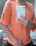 Koszula Orsay mgiełka S neonowa