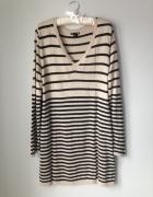 sweter tunika H&M rozmiar L...