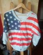 BLUZA USA FLAGA