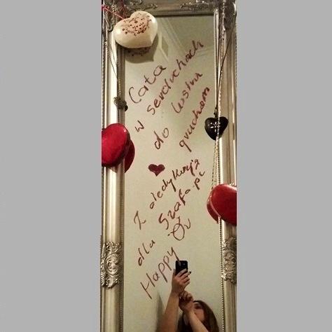 Na specjalne okazje Walentynkowa gruchająca dedykacja