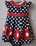 Przepiękny sukienka z majteczkami...