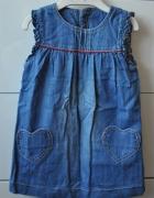 Śliczna jeansowa sukienka...