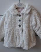 Śliczny kożuszek futerko dla małej damy...