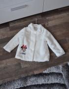 Śliczne białe futerko dla fanki Minnie...