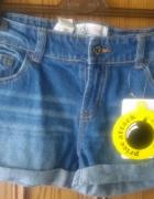 Nowe szorty jeansowe cropp M