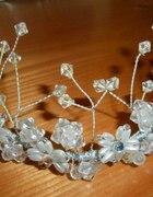 Diadem tiara korona ozdoba do włosów