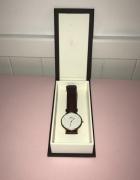 Daniel Wellington zegarek brązowy skorzany...