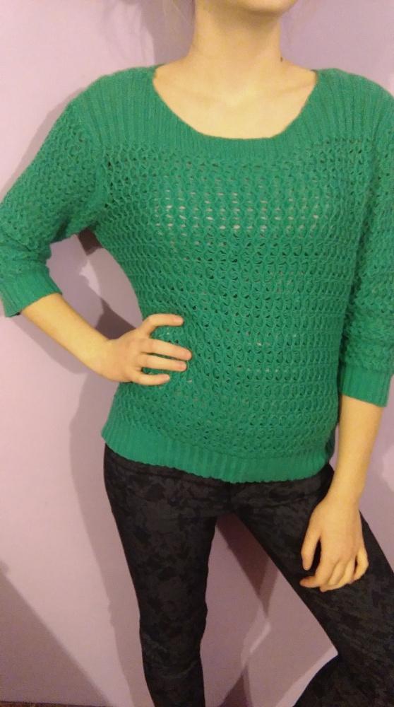 sweter ażurowy...