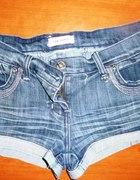 jeansowe szorty Orsay