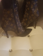 Botki buty louis Vuitton LV na szpilce rozmiar 39