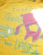 Koszulka bluzka tshirt L cropp potwór...