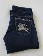 Spodnie jeansy burberry s...