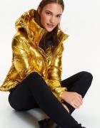 Złota kurtka pikowana Top Secret 34...