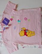 Różowa bluzka Disney dziewczynka 98cm...