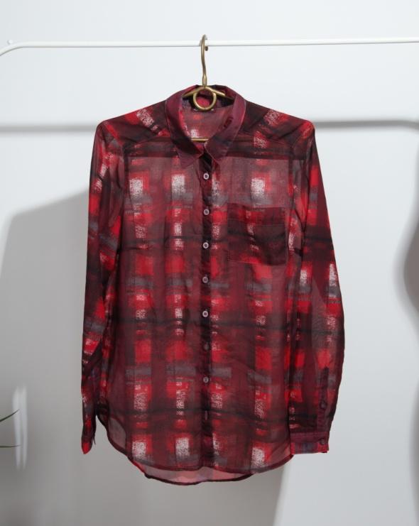 Czerwona koszula mgiełka nowa