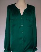 Redherring elegancka zielona bluzka