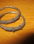 kolczyki srebrne kolka