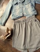 Bawełniana spódniczka z kieszeniami roz S...