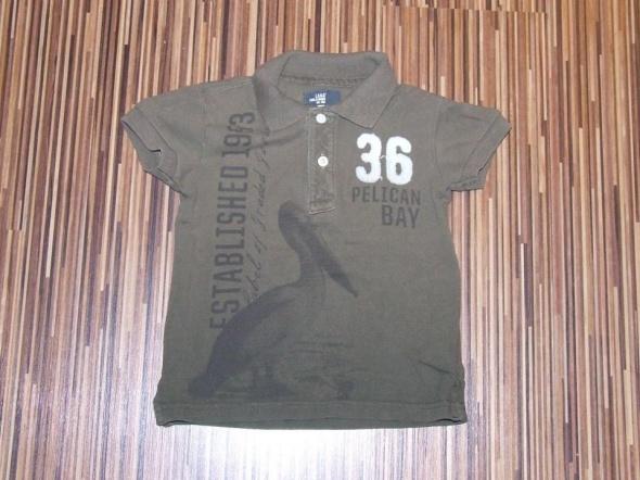Koszulki, podkoszulki koszulka polo H&M rozmiar 86 92