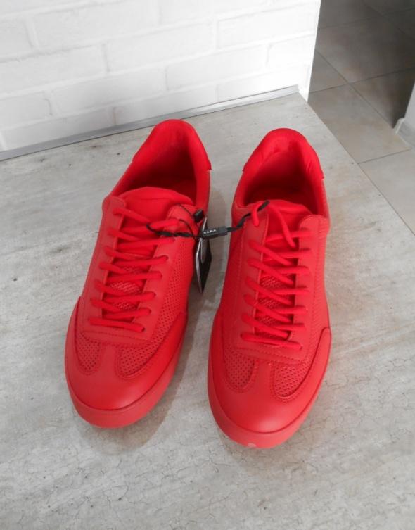 331cee4f2d3a4 Zara Man nowe czerwone adidasy buty sportowe 43 w Obuwie - Szafa.pl