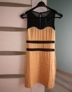 Dopasowana sukienka rozmiar 3436