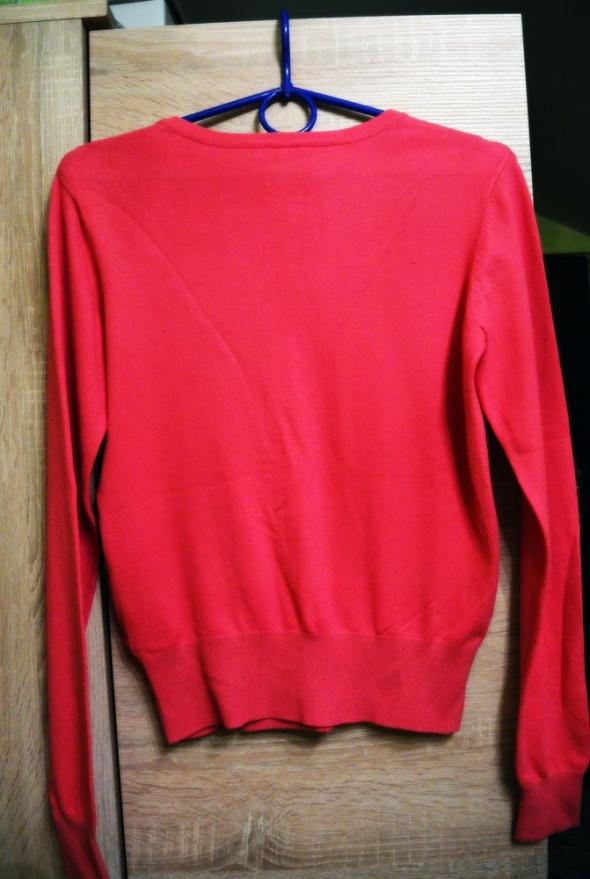 Swetry róż sweterek rozmipany diamenciki