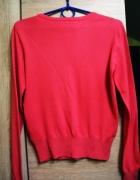 róż sweterek rozmipany diamenciki