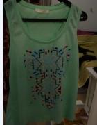 Aztec limonkowa bluzka SM