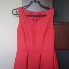Piękna arbuzowa sukienka