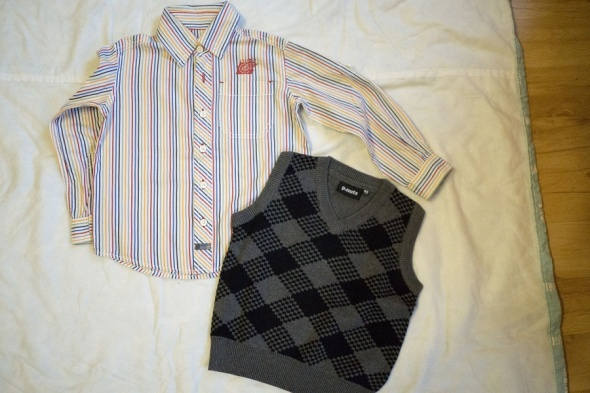 Koszula kamizelka Mexx PNuts 98 104...