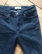Ciemne jeansy rurki super slim MANGO