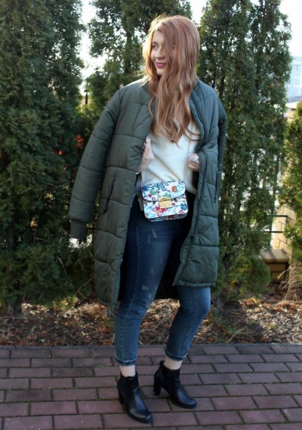 Blogerek Pikowany płaszcz