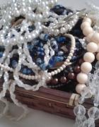 Paka Babcina szkatułka Kolekcja starej biżuterii vintage