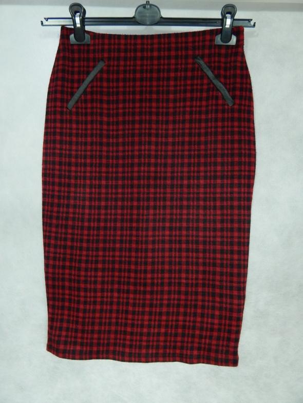 Spódnice Dorothy Perkins OŁÓWKOWA midi spódnica 36 S