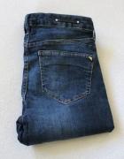 spodnie jeansowe rurki s...