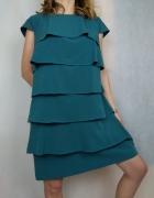 Piękna elegancka sukienka z falbanami Pretty Girl