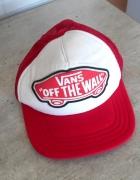Vans czapka z daszkiem trucker czerwona...