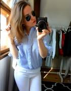 Koszula niebieska w paski