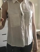 Koszula z zakładanym tyłem Bershka...
