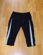 Legginsy spodnie do łydki damskie sportowe M