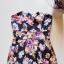 wielobarwna sukienka w kwiaty floral 36...