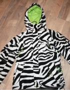 Szukam House kurtka zebra narty snowboard roz M...