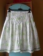 Spódnica biało zielona Ravel...
