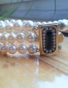 Bransoletka ze sztucznych pereł
