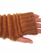 Rękawiczki bez palców mitenki