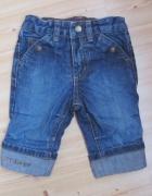 spodnie jeansowe rozmiar 62 H&M