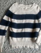 Sweterek w paski...