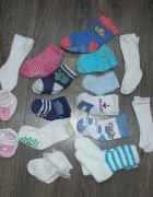 15 par skarpetek dla niemowllaka 50 56